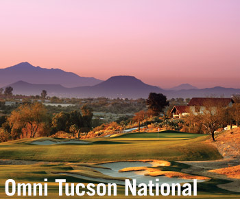 Omni Tucson National in Tucson, Arizona is a great place to play during Spring Training
