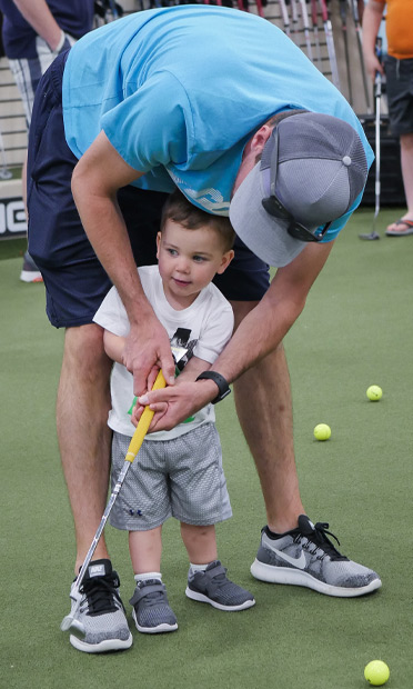 the PGA TOUR Superstore offers gear and events for children