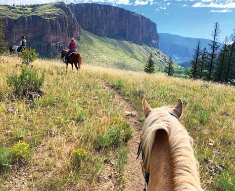 Horseback riding at Rio Grande Club