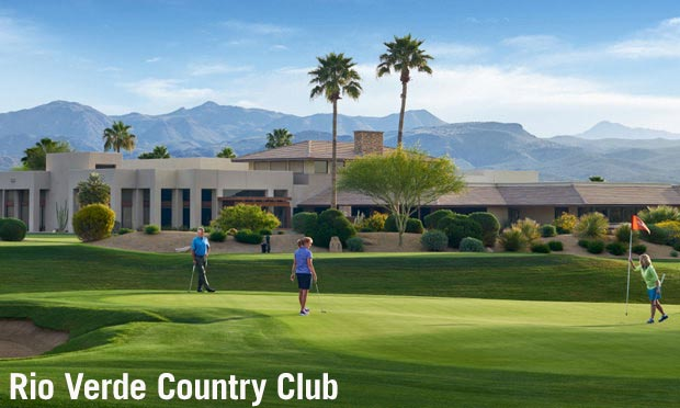 Rio Verde Country Club in Scottsdale area