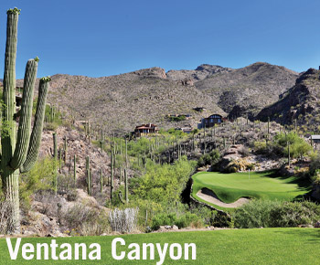 The Lodge at Ventana Canyon is a great place to play during Spring Training
