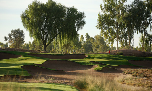 A green complex at Ak-Chin Southern Dunes in Maricopa, Arizona
