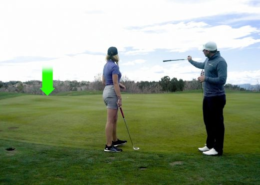A GOLFTEC coach details how to effectively read a green