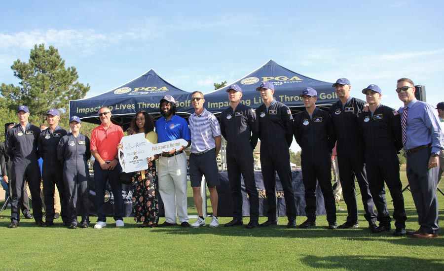 The key ceremony at the 2018 PGA Reach Foundation Pro-Am