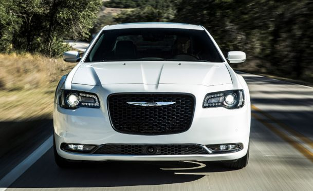 The front of the 2019 Chrysler 300S