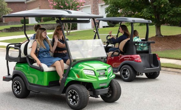 Club Car Onward two and four passenger models