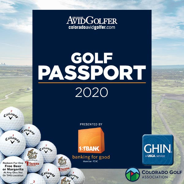 The 2020 Golf Passport Deluxe product image