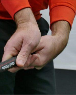 grip during backswing