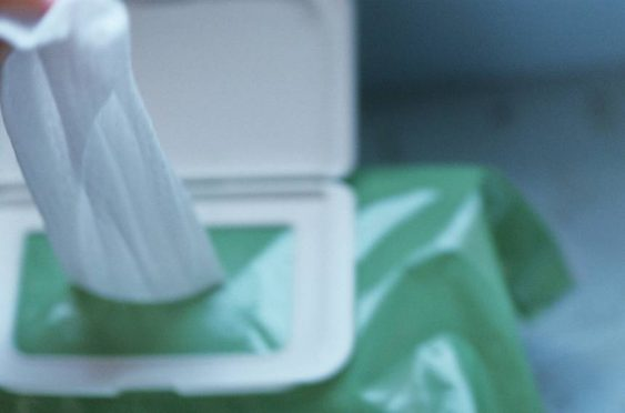 A box of sanitizing wipes can easily fit in a golf car. Use them to stop the spread of COVID-19