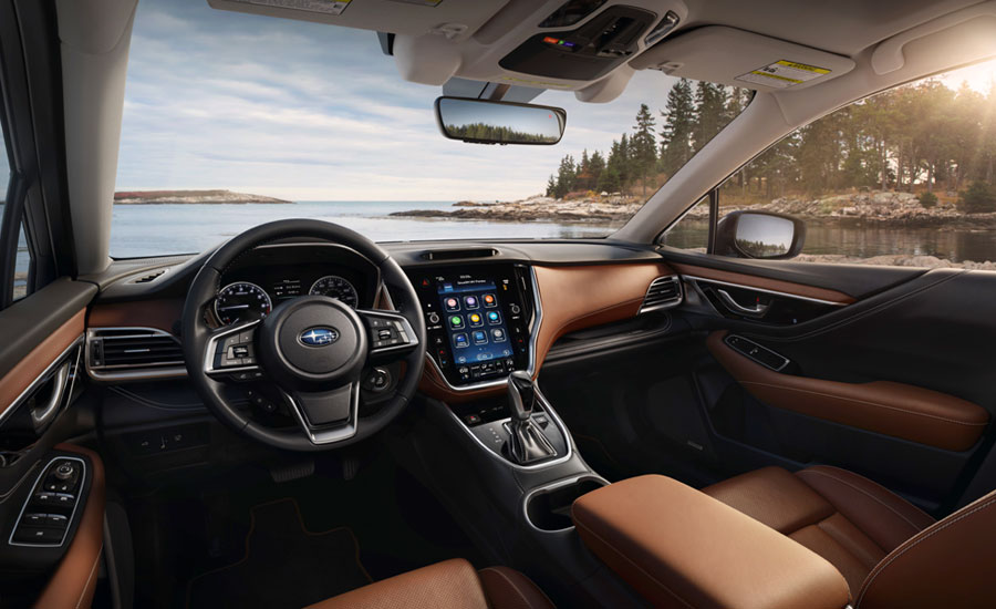 The interior of the 2020 Subaru Ascent Limited