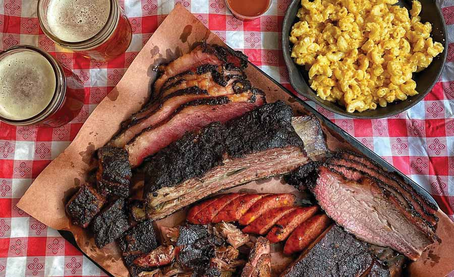 MEAT YOU THERE: AJ's Pit BBQ Texas-sized assortment