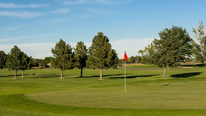 Golden's Applewood Golf Course is letting golfers ride and walk with specific restrictions.