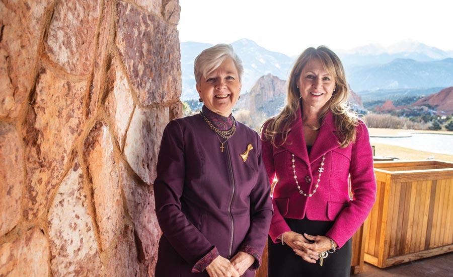 Brenda Smith & Judy Mackey, owners of Garden of the Gods Club & Resort