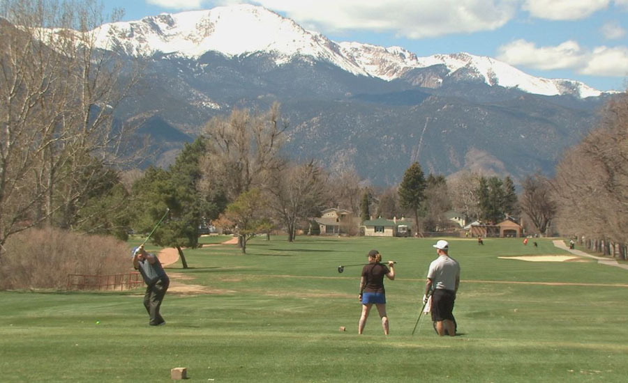 Patty Jewett Golf Course in Colorado Springs is open to walkers only.