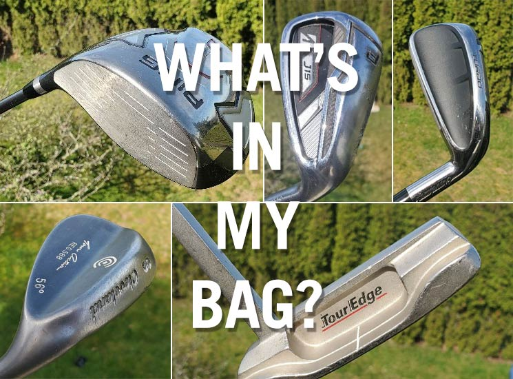 What's in Tony Dear's golf bag?
