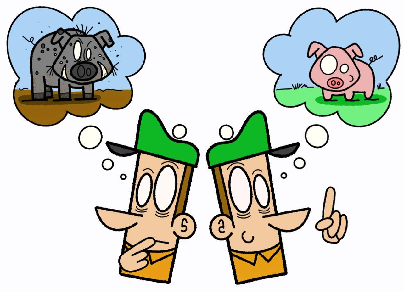 Practice Golf Cartoon Two