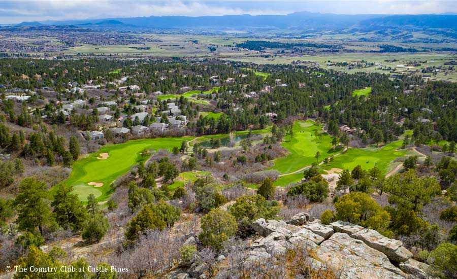 Castle Pines Aerial 3