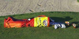 Flag Bag on Course