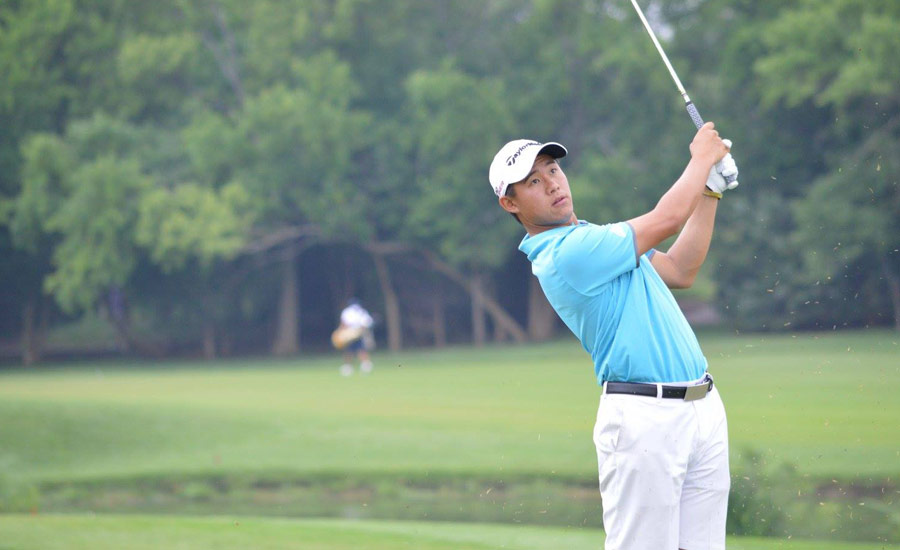 YOUNG GUN: Future PGA TOUR winner Collin Morikawa, then 18, dominated the 2015 Trans-Miss field at Flint Hills by seven strokes.