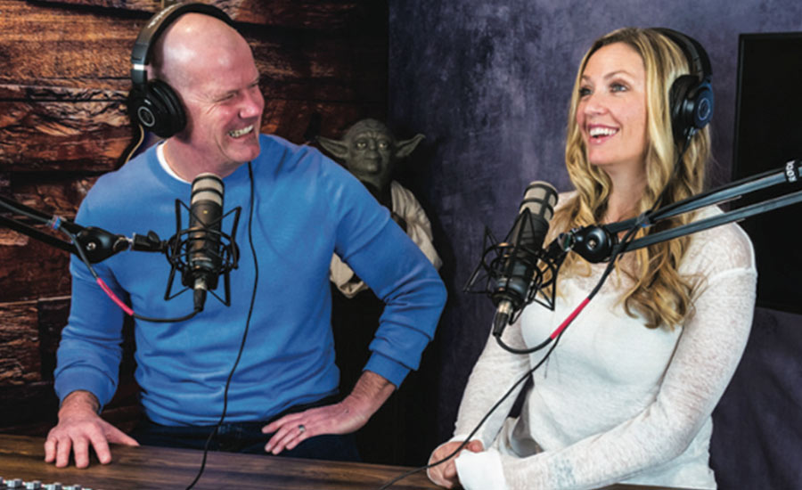 Shannon Sovndal hosts the Match on a Fire podcast with his wife Stephanie, a paramedic. They discuss COVID.