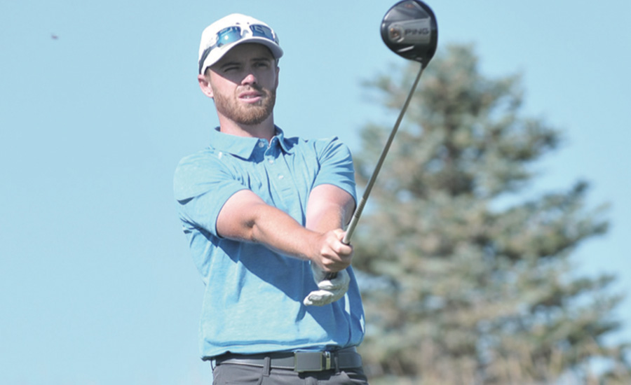Sam Saunders at the CoBank Colorado Open