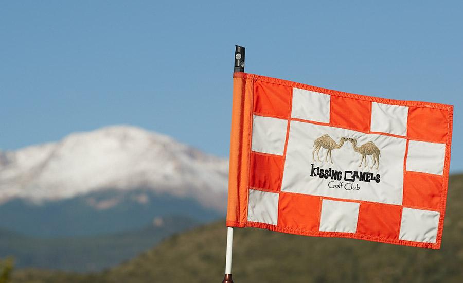 Kissing Camels Flag