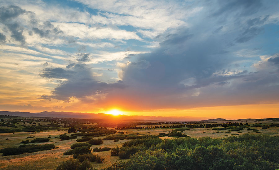 The Keep - Sunset