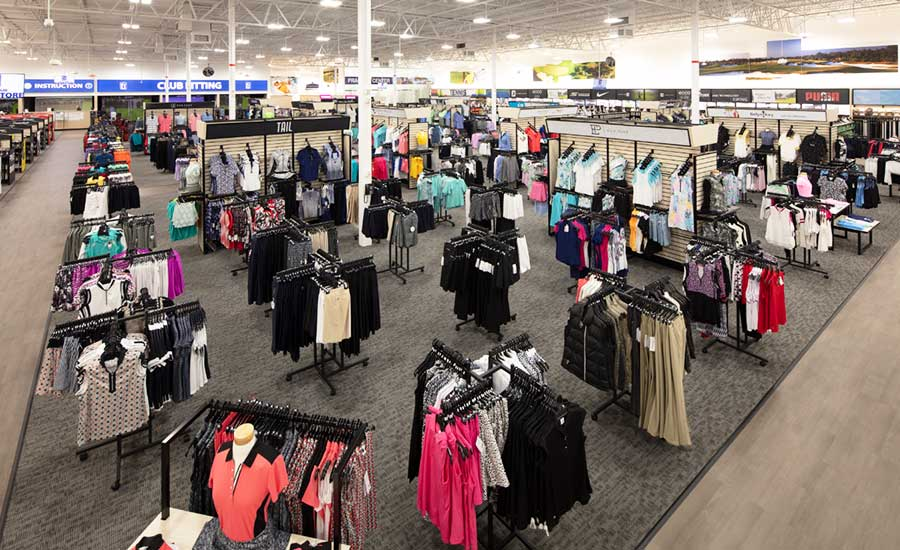 PGA TOUR Superstore Open for Customers to Shop - Plenty of space for social distancing