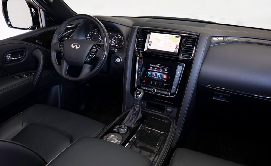 Car Dash and Interior