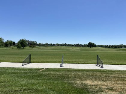 The driving range at City Park