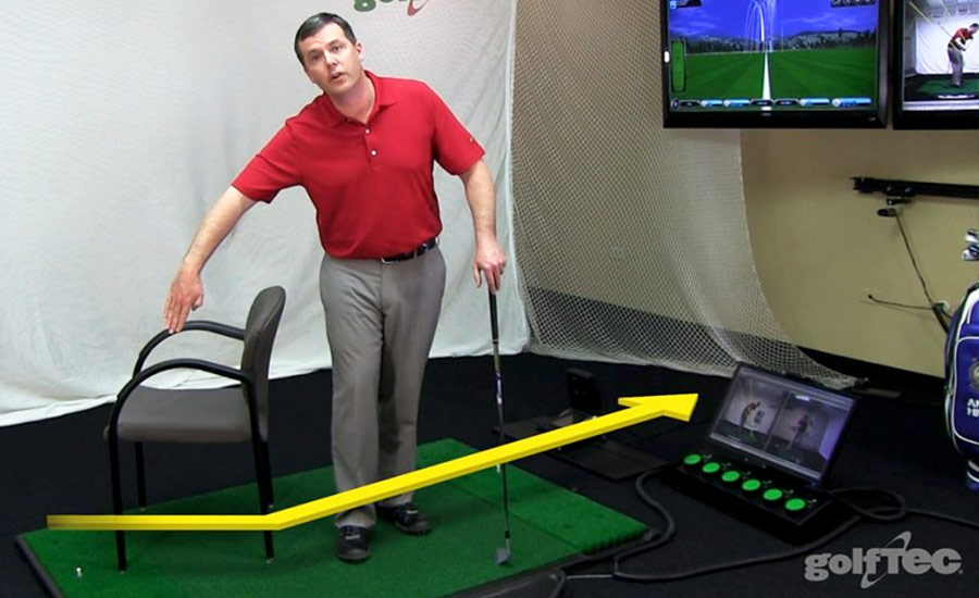 GOLFTEC Chair Drill
