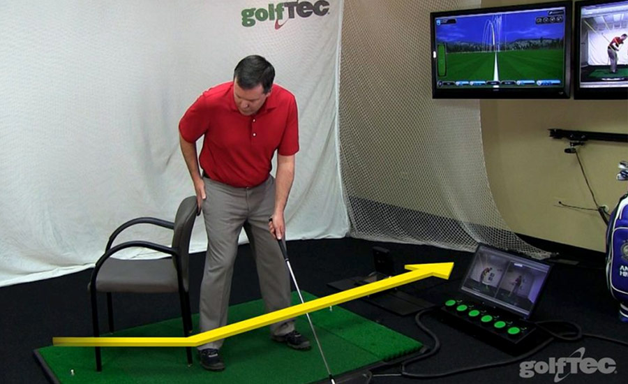 GOLFTEC Chair Drill 2