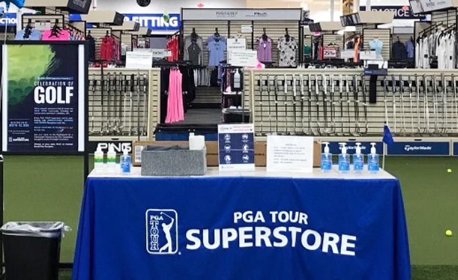 PGA Tour Superstore Associates Keep Shopping Safe