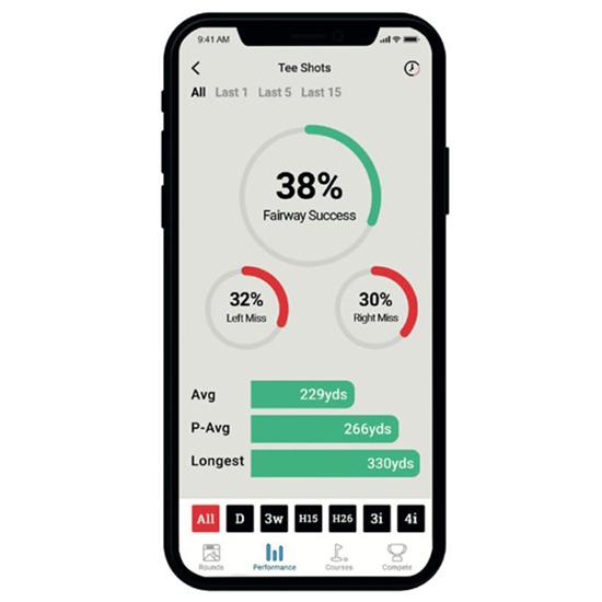 Shot Scope V3 GPS Watch Mobile App