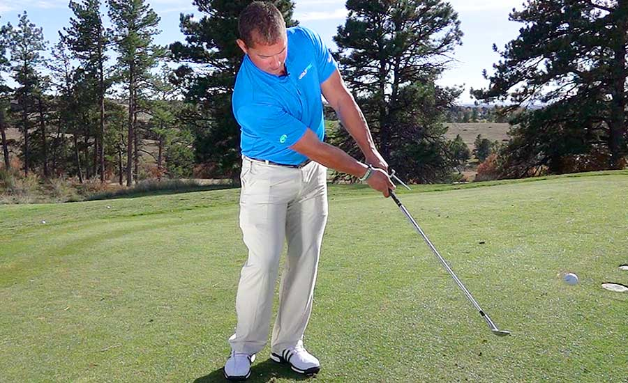 Chipping Set Up and Follow Through