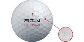RZN HS Tour Golf Ball Micro Holes