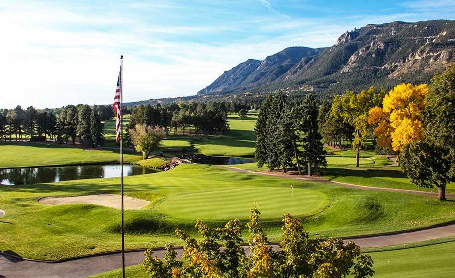The Broadmoor in Fall