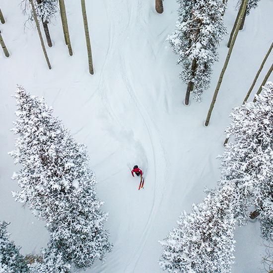 Ikon Pass Skier 3
