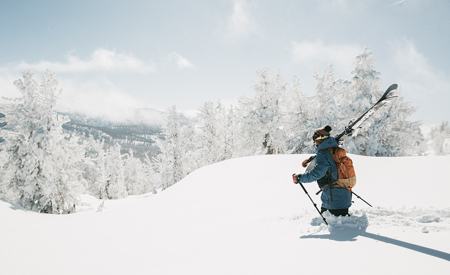 Ikon Pass Skier