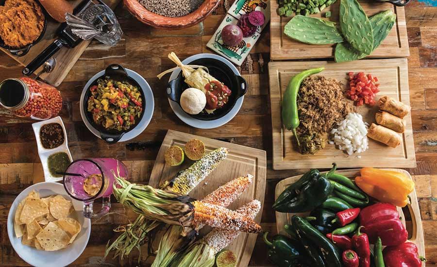 Getaways - Food on Table