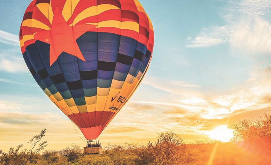 Getaways - Hot Air Balloons in Arizona