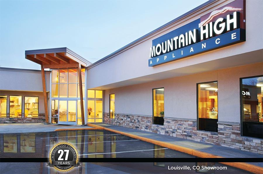 Mountain High Appliance Exterior