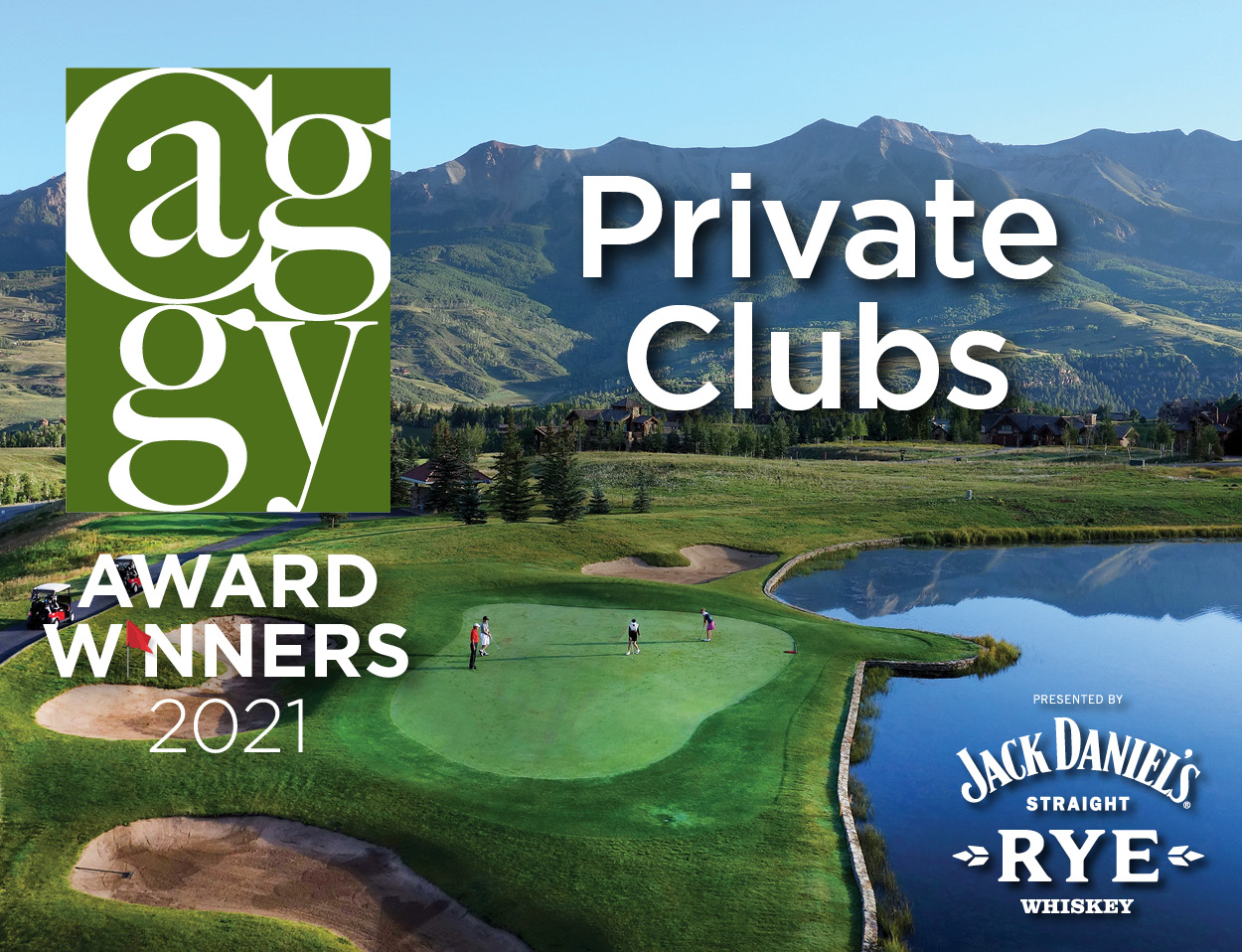 CAGGY Winners - Private Clubs