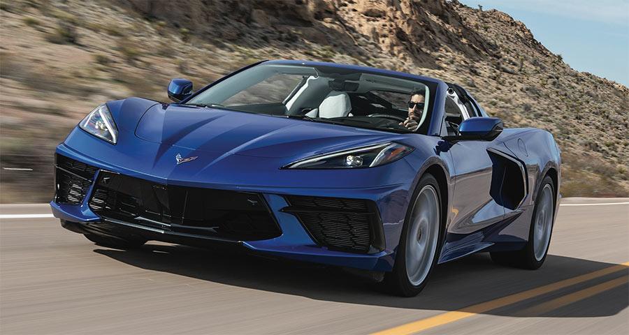 Nice Drives Corvette