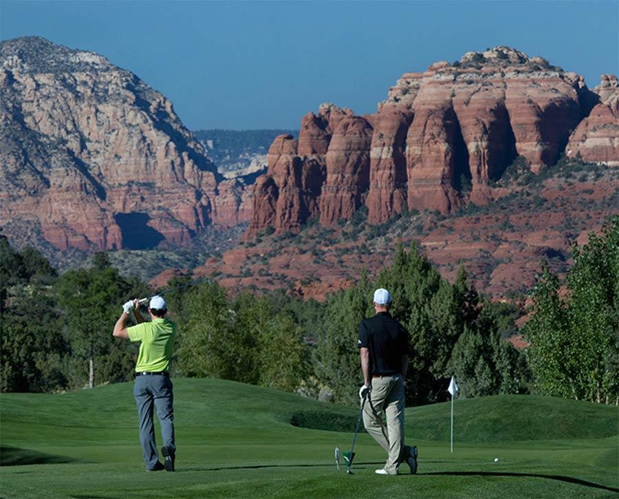 Sedona Golf Resort, Sedona, AZ (Credit: Sedona Chamber of Commerce & Tourism Bureau)