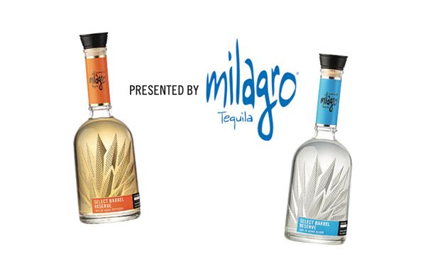 MILAGRO LOGO - SPONSORED BY