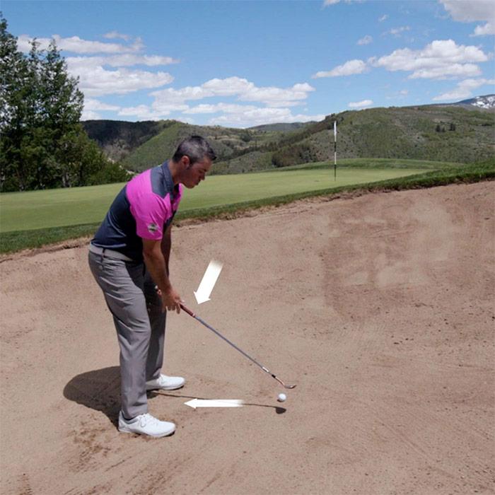 Golftec Bunker Shot