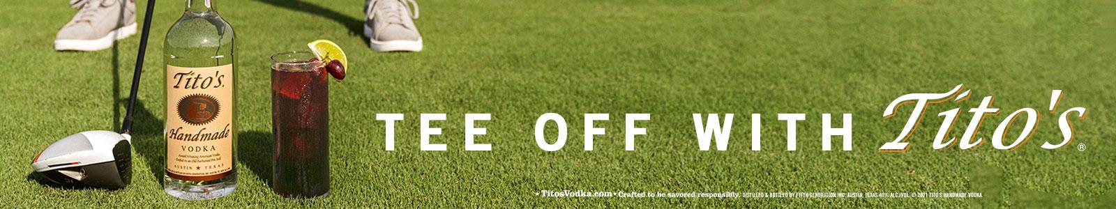 Titos Golf Ad June 2021